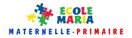 Cliquez ici pour accéder au site web de l'école maria : maternelle et primaire